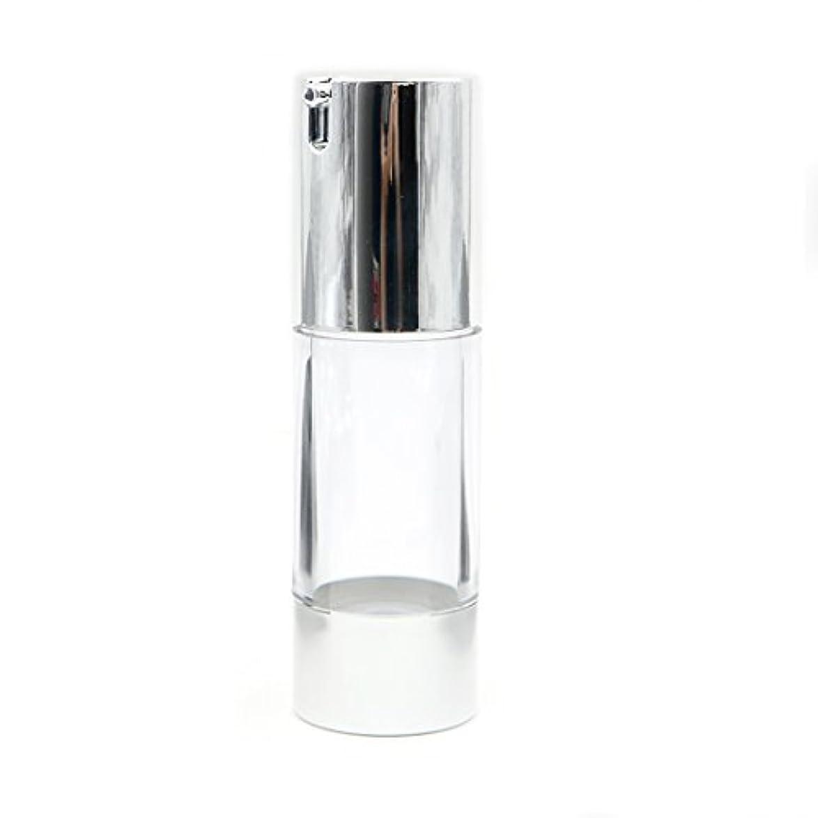 高潔なバルブ洗剤Angelakerry エアレス 容器 ホワイト 30ml 手作りコスメ 手作り化粧品 詰め替え容器 5本セット [並行輸入品]