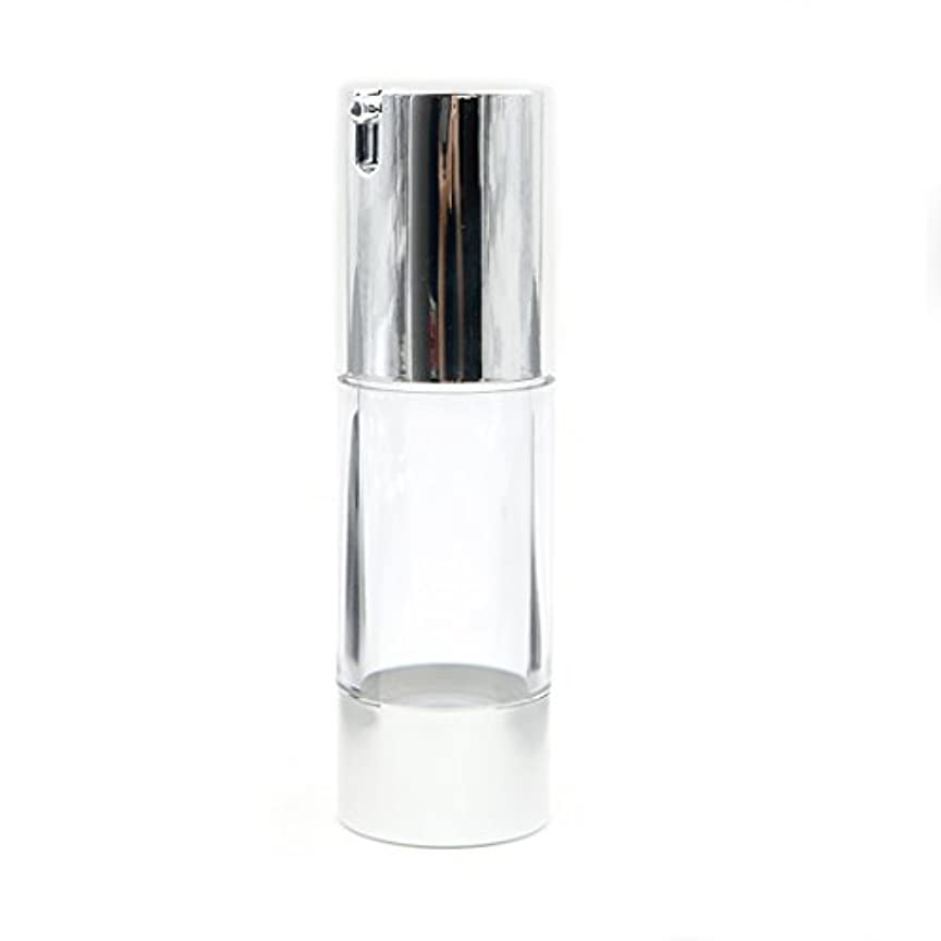 ワーディアンケース尋ねる化学者Angelakerry エアレス 容器 ホワイト 30ml 手作りコスメ 手作り化粧品 詰め替え容器 5本セット [並行輸入品]
