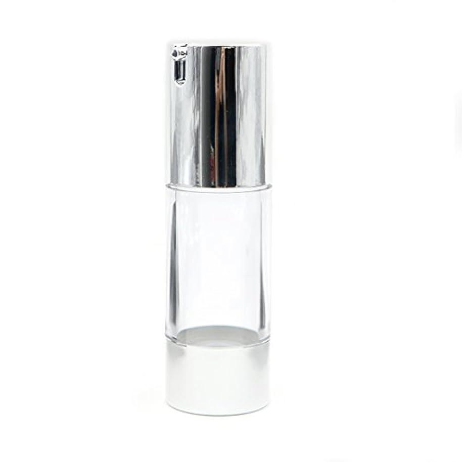 挨拶するカウント策定するAngelakerry エアレス容器ホワイト30ミリリットル手作りコスメ手作り化粧品詰め替え容器10本セット[並行輸入品]