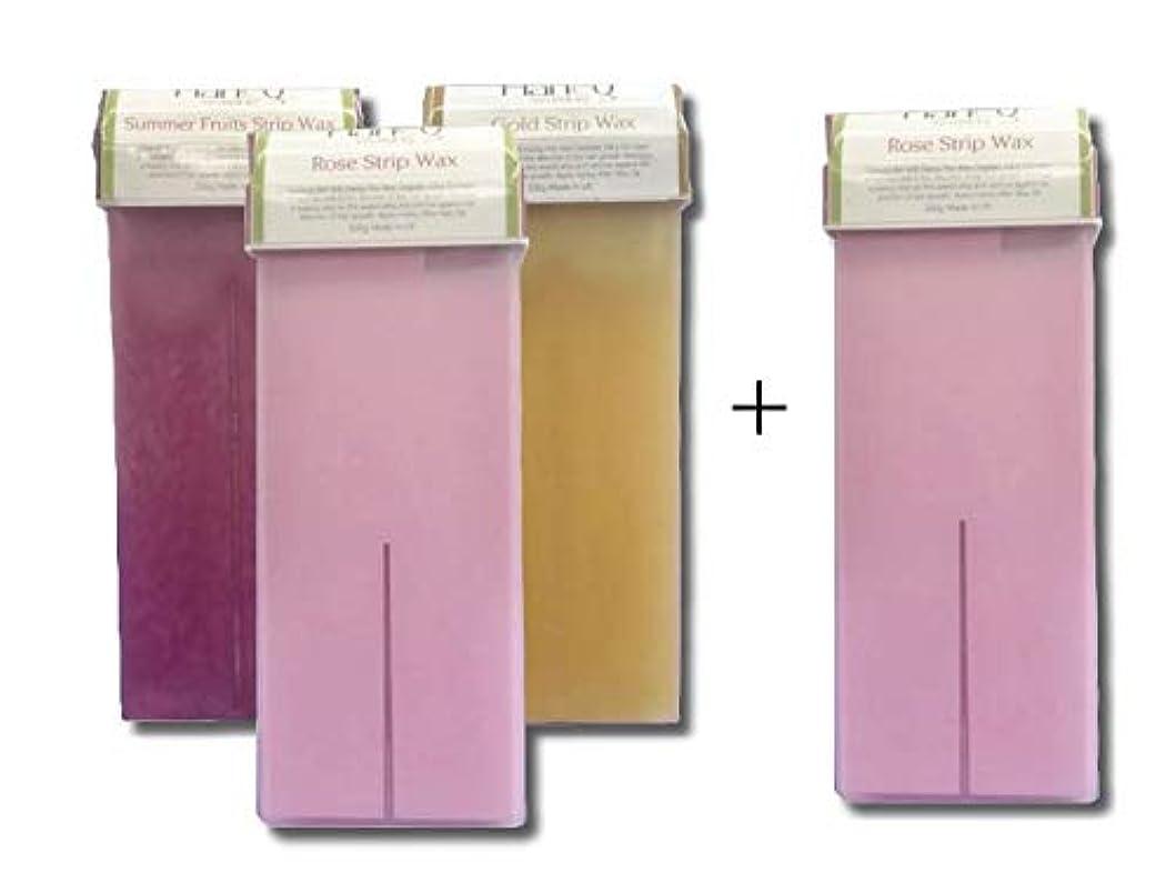 花束不幸廃止セルフワックス各1種類(100g)3本セット ブラジリアンワックス