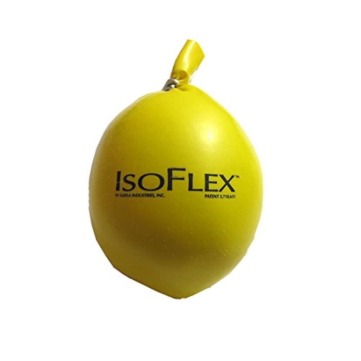 プロポーショナルインフラ巨人IsoflexイエローStress Ball Handマッサージャー