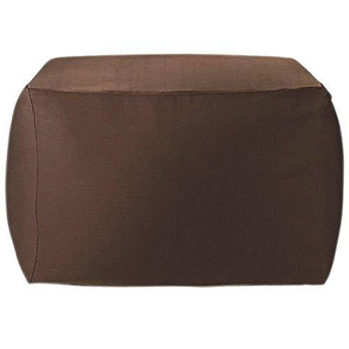愛喜 DEWEL ビーズクッションカバー ソファーカバー キューブチェアカバー 洗えるカバー 付け替えカバー ( ブラウン)