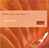 Frederic Chopin: Piano Music 1