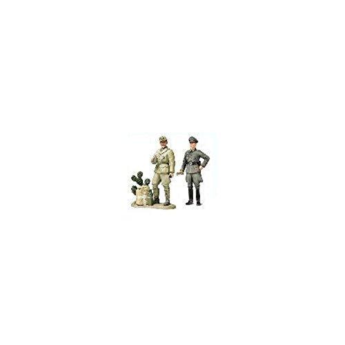 スケール限定シリーズ 1/35 ドイツ国防軍将校・アフリカ軍団戦車兵セット 25154