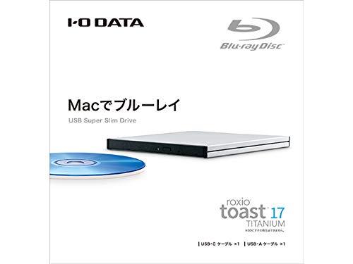 IODATA(アイ・オー・データ)『ポータブルブルーレイドライブ(BRP-UT6/MC2)』