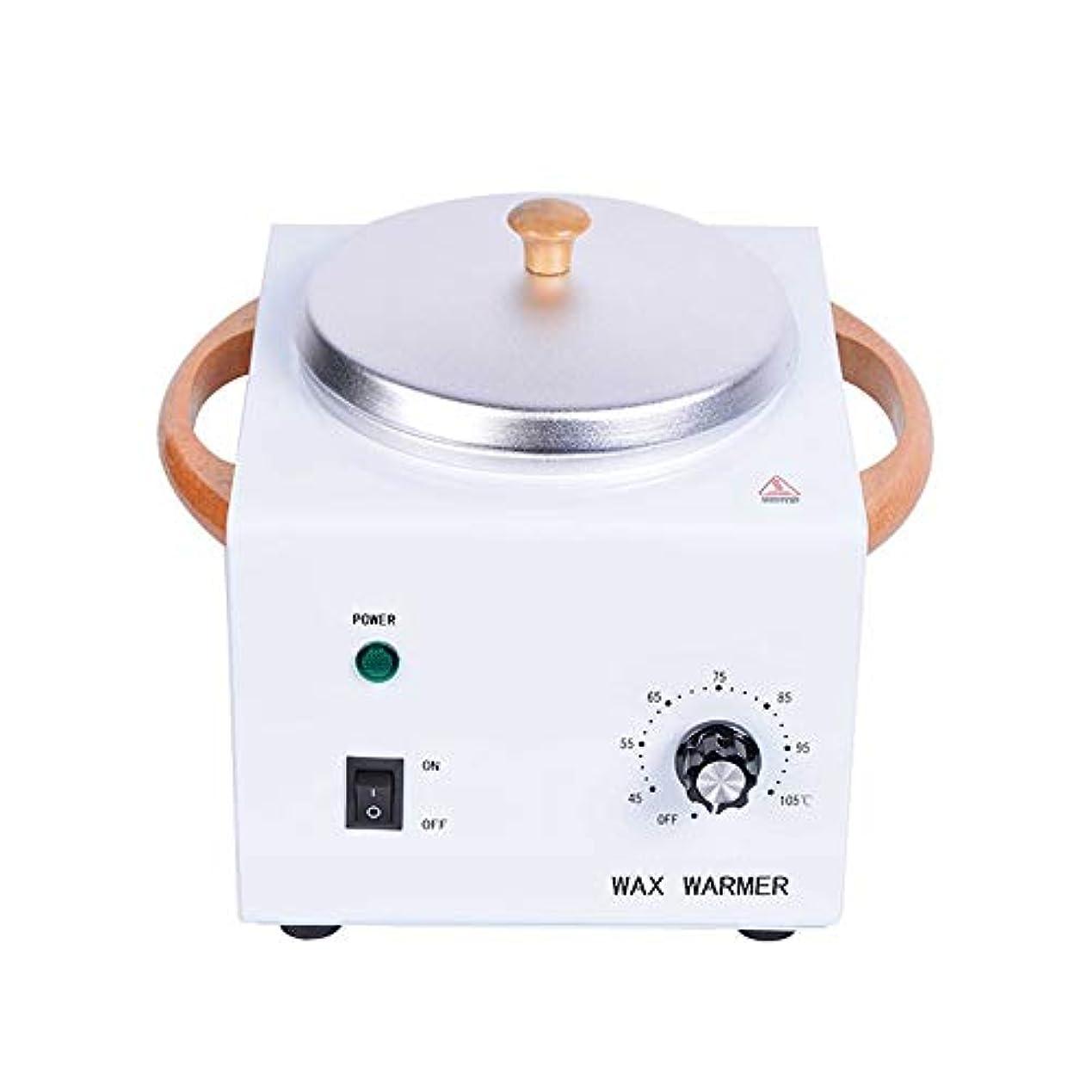 乳剤メロン内側500 MLワックスウォーマー、美容ワックスヒーターポット、プロフェッショナルサロンスパツール溶融ポット、調整可能な温度
