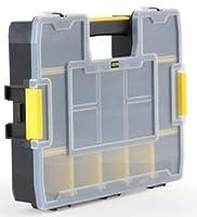 """Stanleyハンドツールstst1402211–1/ 2"""" x 14–3/ 4プラスチックロックアゴユーティリティボックス"""