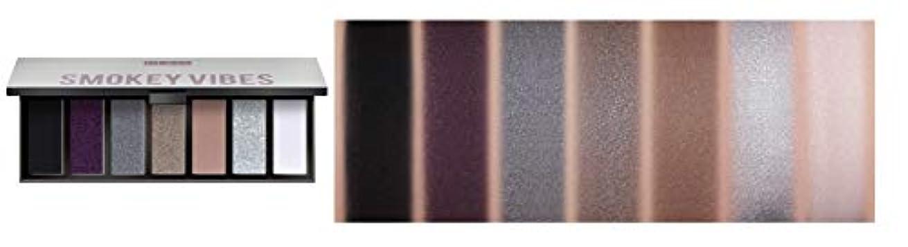 近代化変成器コンドームPUPA MAKEUP STORIES COMPACT Eyeshadow Palette 7色のアイシャドウパレット #002 SMOKEY VIBES(並行輸入品)