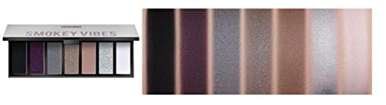 ストライドお祝いスタックPUPA MAKEUP STORIES COMPACT Eyeshadow Palette 7色のアイシャドウパレット #002 SMOKEY VIBES(並行輸入品)