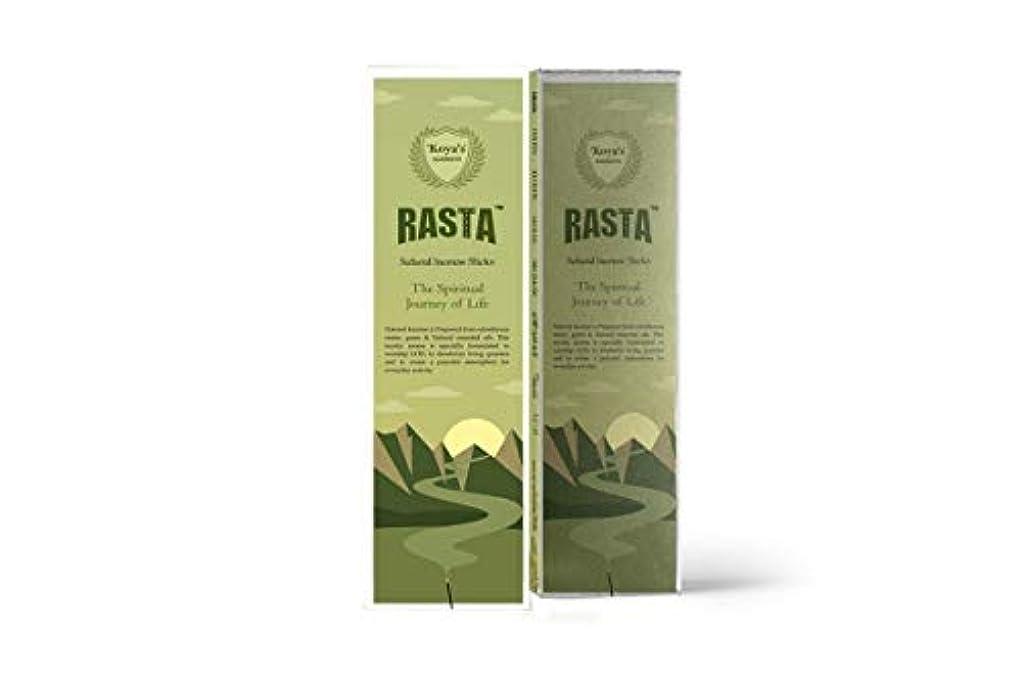 餌チャートホームレスkoya's Rasta Premium Incense Sticks Pack of-5