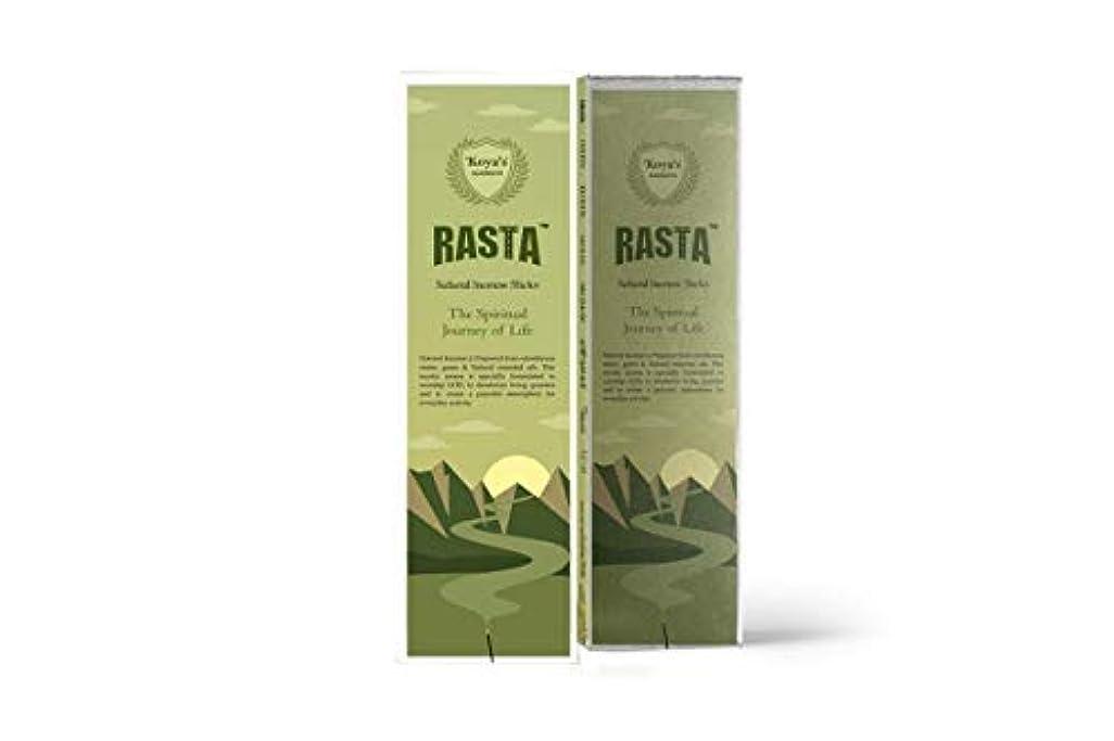 ホイール感謝祭スクランブルkoya's Rasta Premium Incense Sticks Pack of-5