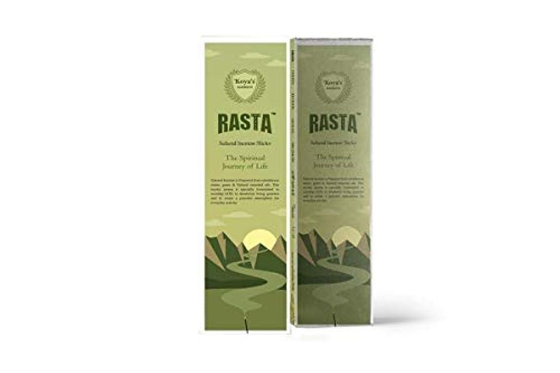 ご意見インシュレータ湿地koya's Rasta Premium Incense Sticks Pack of-5