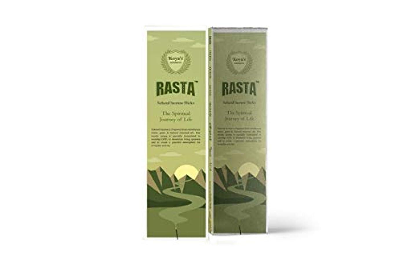 接地洗剤留まるkoya's Rasta Premium Incense Sticks Pack of-5