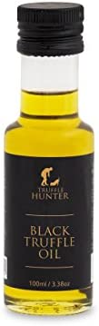 Black Truffle Oil (100ml) by TruffleHunter - Vegan, Vegetarian, Kosher & Gluten Free - Extra Virgin Olive