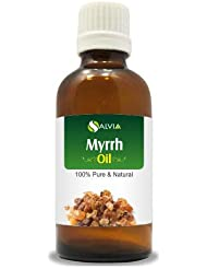 MYRRH OIL (Commiphora myrrha) Essential Oil 30ml By Salvia