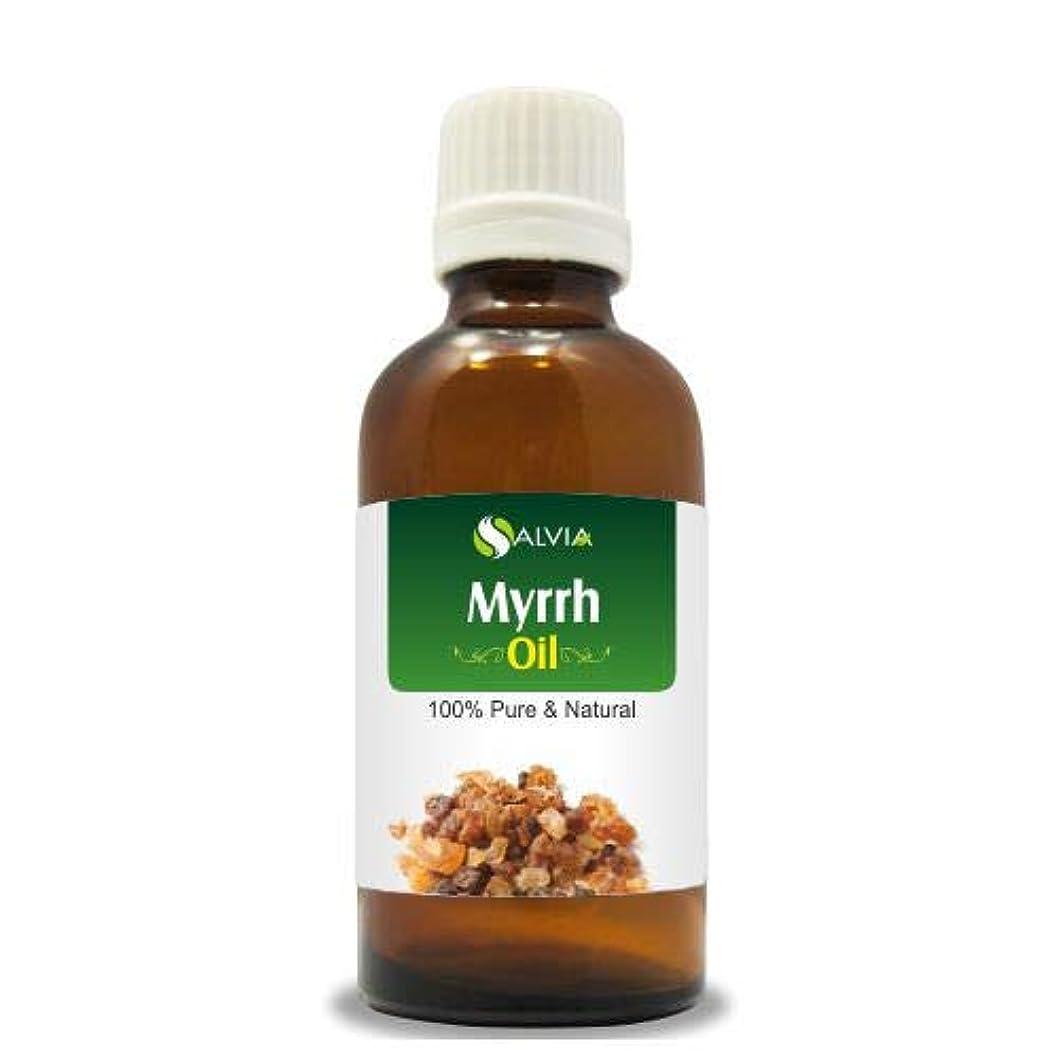 無駄水曜日音声学MYRRH OIL (Commiphora myrrha) Essential Oil 30ml By Salvia