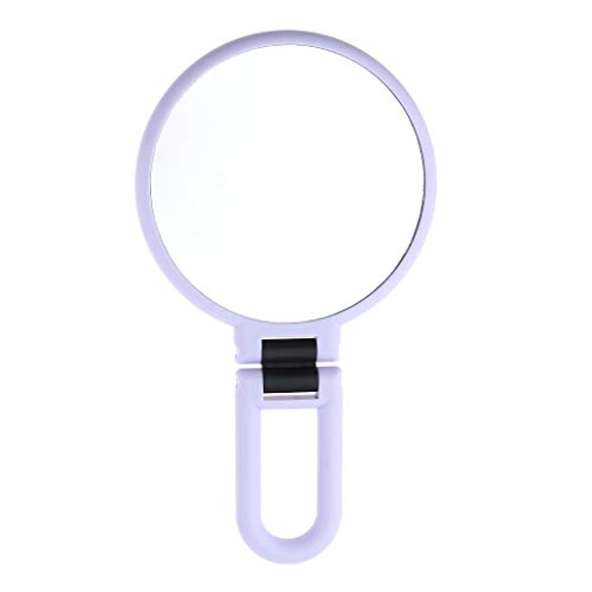 計器実現可能幸運なことにP Prettyia 両面HDミラー 化粧鏡 拡大鏡 折りたたみ 丸い メイクアップミラー 2タイプ選べ - 5倍