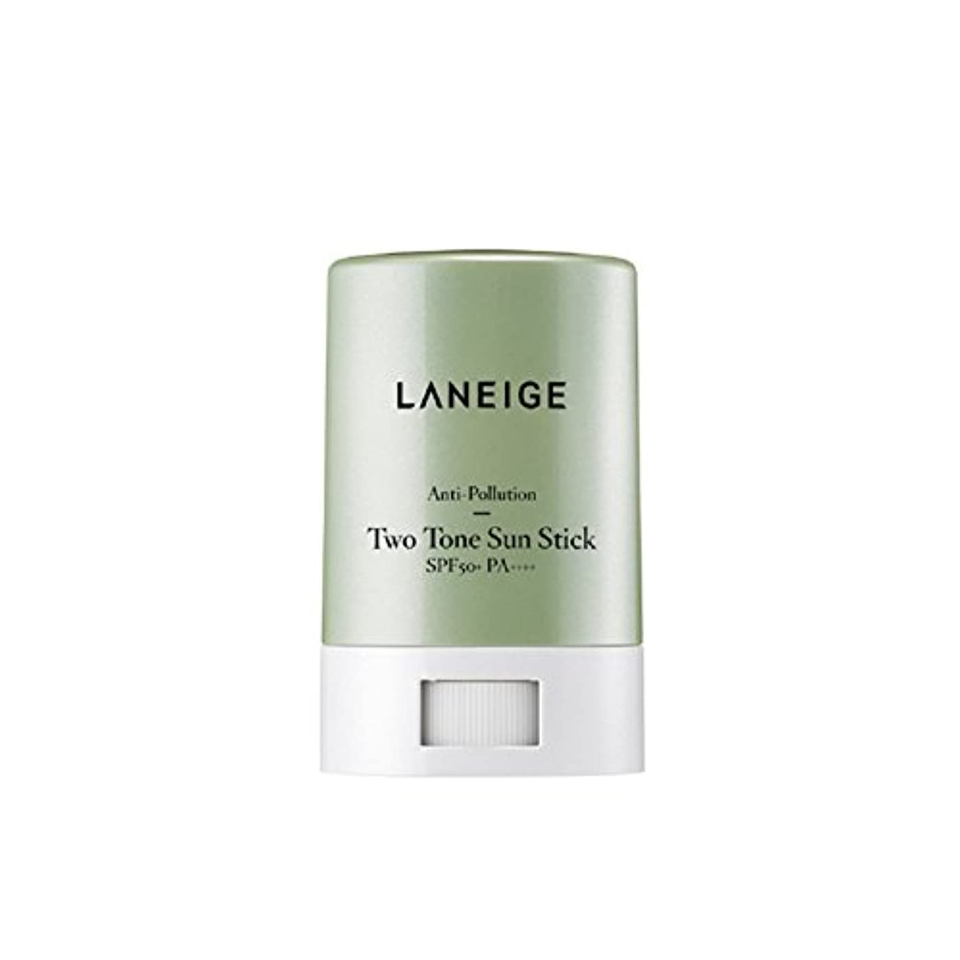 LANEIGE ラネージュ Anti-pollution Two Tone Sun Stick サンスティック SPF 50+PA++++ 18g Fine dust and UV protection 細かいほこりや紫外線...