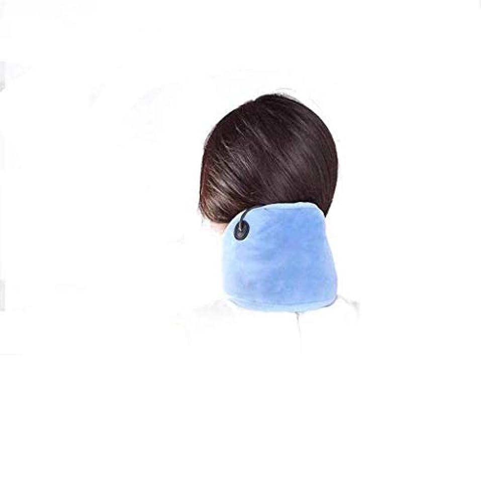 通り抜けるケープチップ肩と首のマッサージ、電子サーマルパッド、Mホットボディセラピー、筋肉のリラックス、血液循環の促進、熱、頸椎の保護