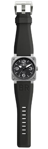 Bell&Ross ベル&ロス AVIATION BR 03 42 MM BR 03-92 BR 03-92 STEEL [正規品]