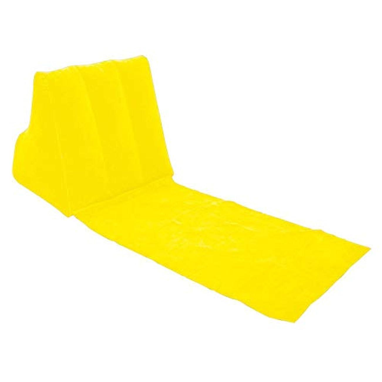 ハブフォークキャプテンブライLULAA 三角クッション 三角枕 インフレータブル 折畳み式 背もたれ 足置き 読書 日光浴 キャンプ アウトドア 旅行
