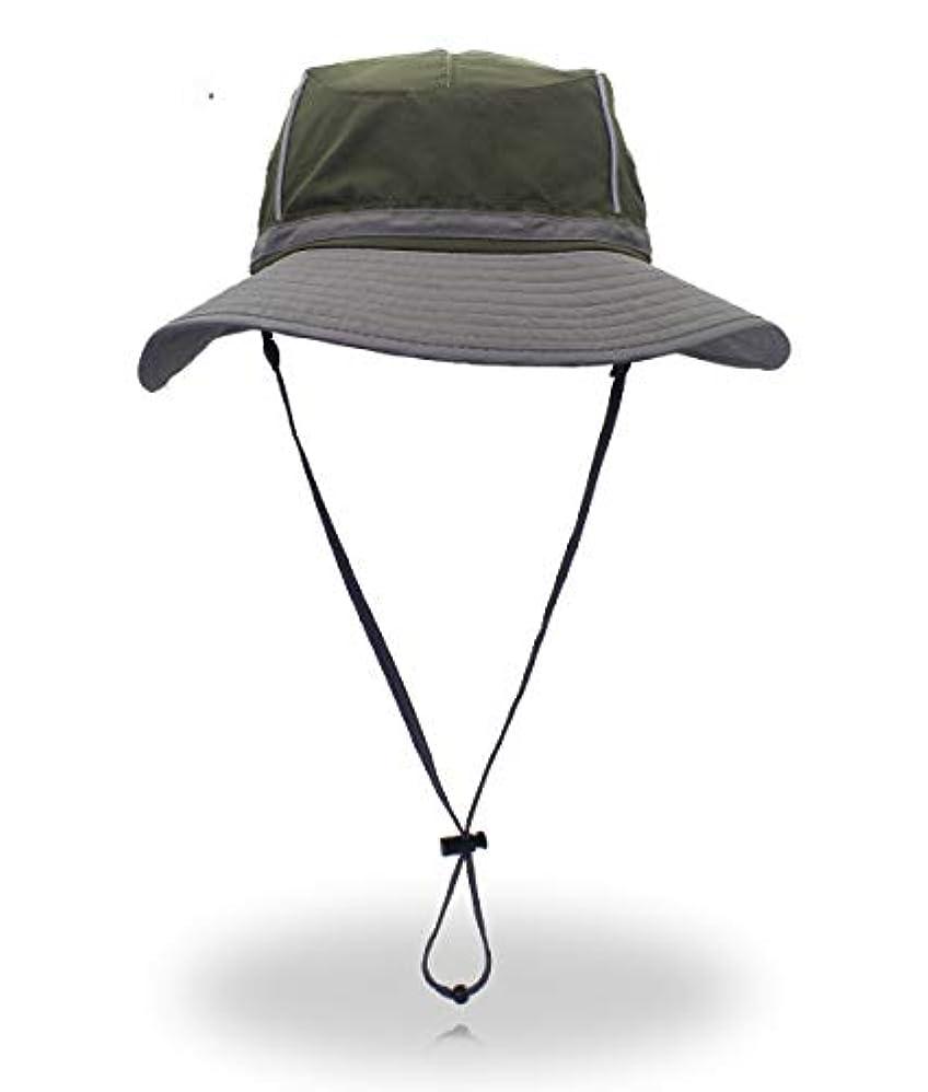 引退する宿題をするチャペル[Lovechic] ハット サーフハット メンズ 日よけ帽子 uvカット 大きいサイズ 夏用 登山 アウトドア キャンプサイドハット