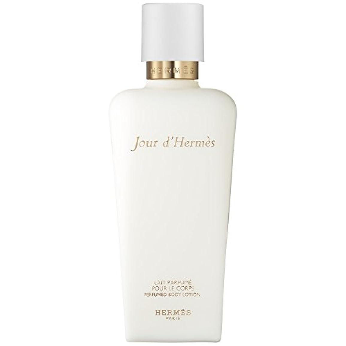 レイアアトム音楽エルメスJourのドールエルメス賦香ボディローション200ミリリットル (HERM?S) (x6) - HERM?S Jour d'Herm?s Perfumed Body Lotion 200ml (Pack of 6...