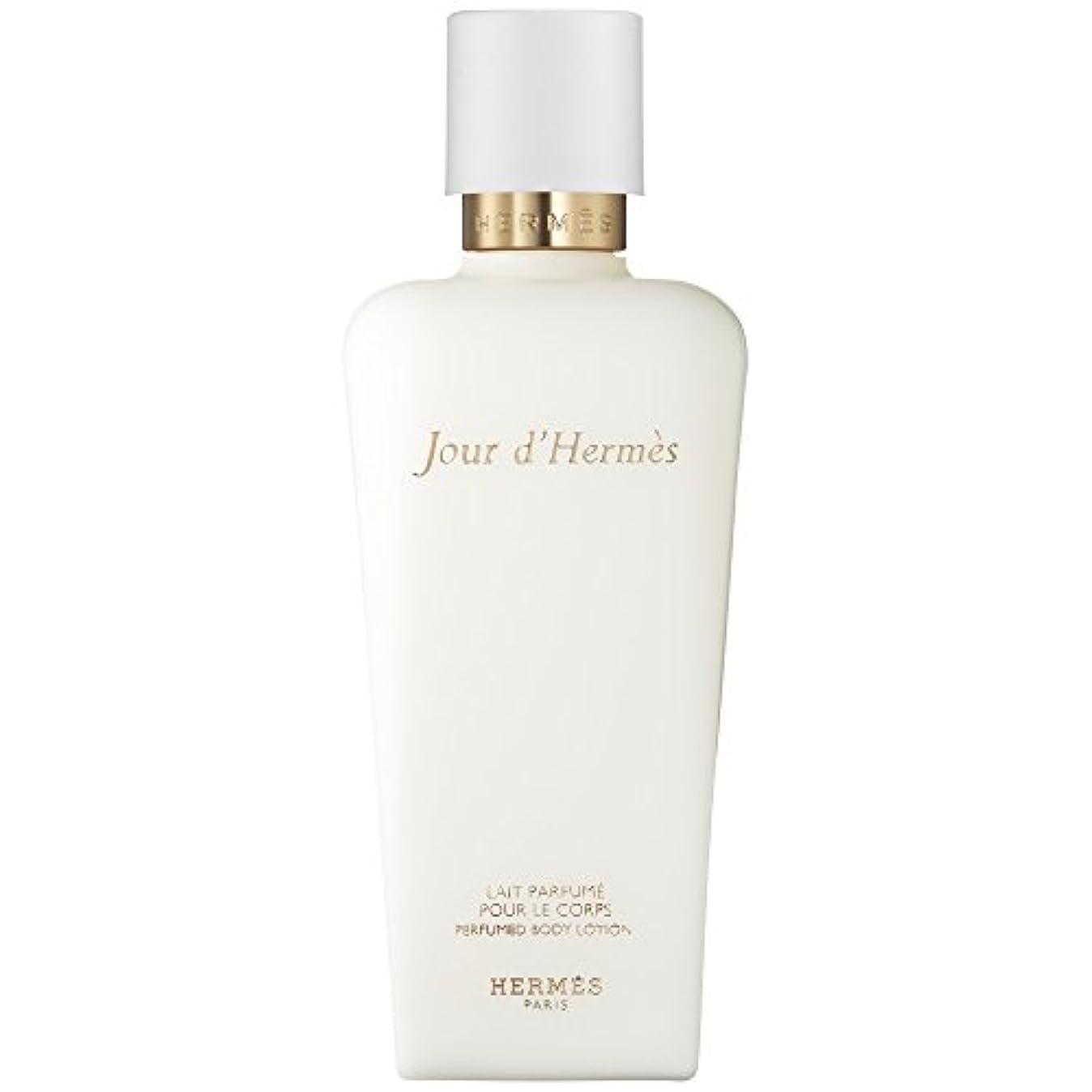 タブレット抗議一族エルメスJourのドールエルメス賦香ボディローション200ミリリットル (HERM?S) (x2) - HERM?S Jour d'Herm?s Perfumed Body Lotion 200ml (Pack of 2...