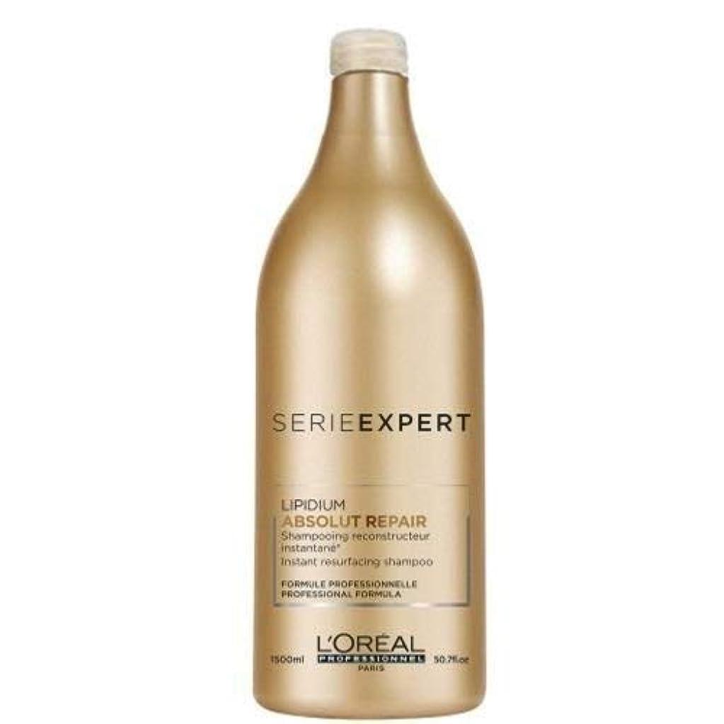 レオナルドダ液化する素晴らしい良い多くのロレアル プロフェッショナル セリエエクスパート アブソルートR. リピディアム シャンプー 1500ml [並行輸入品] (ポンプなし)