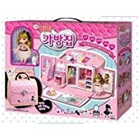 KOREAN TOY_ Mimi World _ Mimi bag house (Mimi dolls with pretty furniture, and easy to carry, Dollhouse)[001KR]