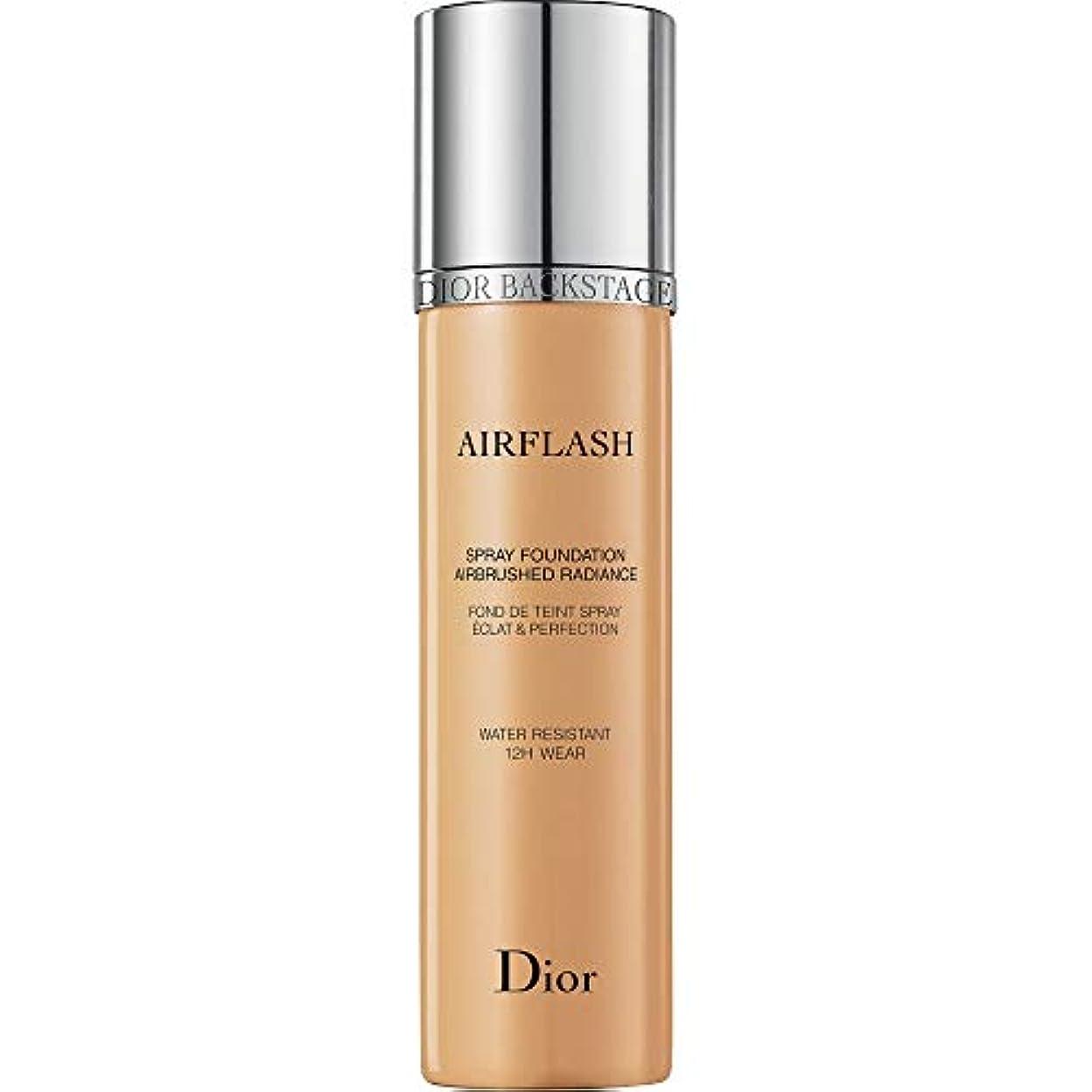 文明アーチモルヒネ[Dior ] アンバーベージュ - ディオールバックステージプロがスプレー基礎70ミリリットル321をAirflash - DIOR Backstage Pros Airflash Spray Foundation 70ml...