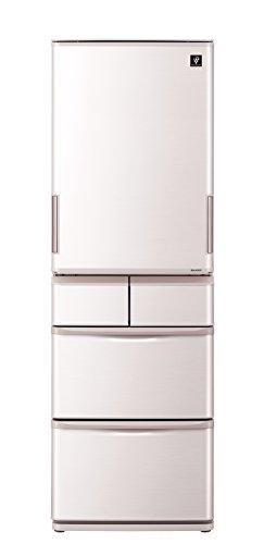 シャープ どっちもドア冷蔵庫 プラズマクラスター搭載 412L...