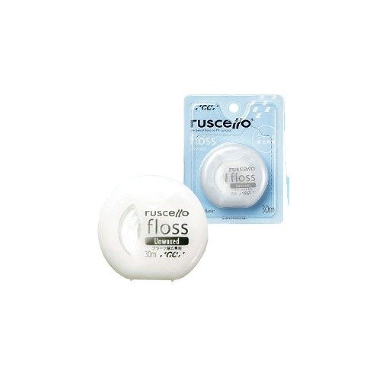 書き込みやむを得ない可塑性ジーシー ルシェロ フロス ワックスナシ 30m 4548161180972