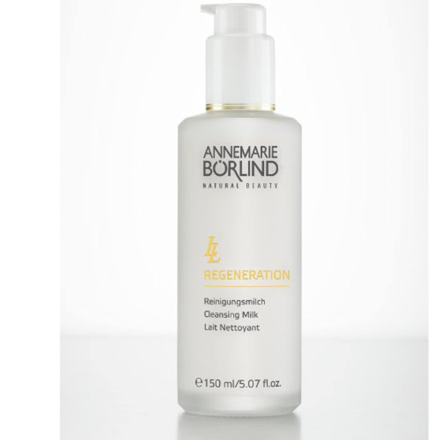 名誉製造放映AnneMarie Borlind, LL Regeneration, Cleansing Milk, 5.07 fl oz (150 ml)