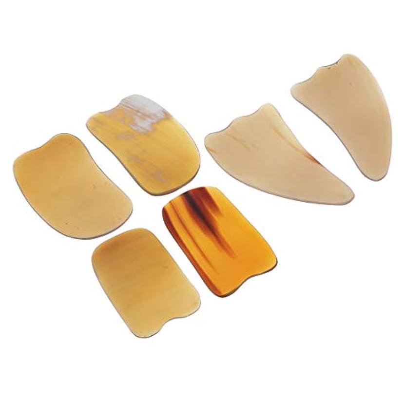 牽引ミネラル医療のスクレイピングボード カッサボード カッサマッサージ道具 ボディマッサージ SPA 角形