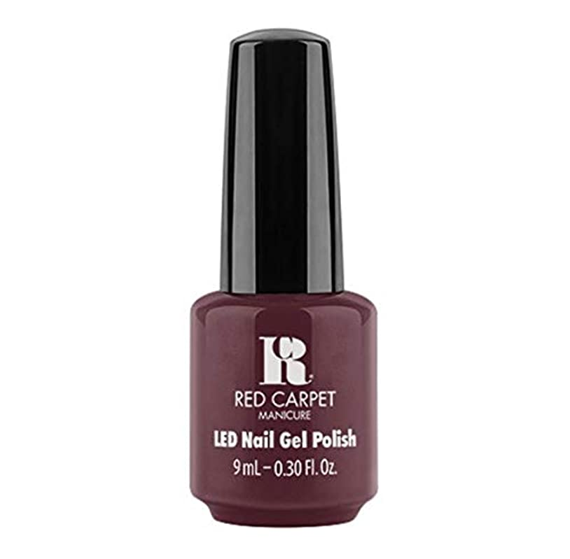 グリーンバック反映する毛皮Red Carpet Manicure - LED Nail Gel Polish - Wine For The Win - 9ml / 0.30oz