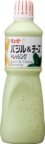 バジル&チーズドレッシング 1000ml /キューピー(12本)