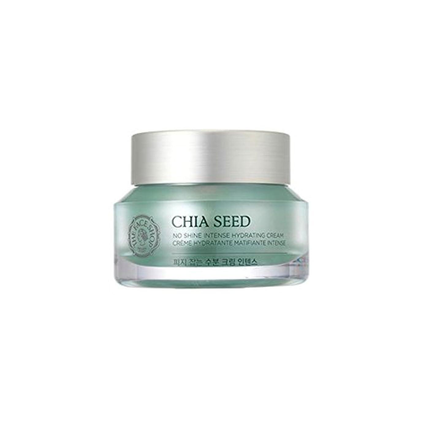 休憩開拓者気性[ザ·フェイスショップ]The Face Shop チアシードノーシャインインテンス水分クリーム(50ml) The Face Shop Chia Seed No Shine Intense Hydrating Cream...