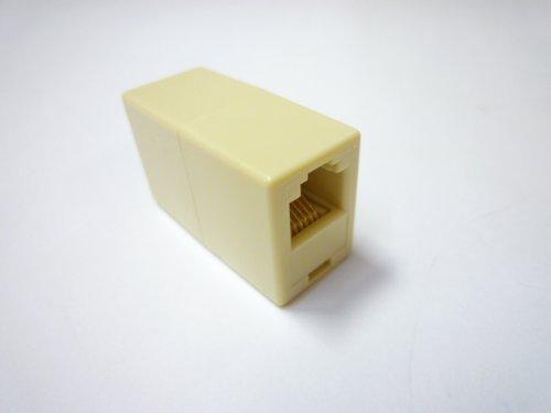 [해외]스카이니 6 극 6 심 (RJ-25) 중계 (연장) 어댑터 DMJ-CP-6C + 모듈 코드 (5m) MP-MP-5m-6C 세트/Skynie 6 pole 6 core (RJ - 25) relay (extension) adapter DMJ - CP - 6 C + modular cord (5 m) MP - MP - 5 m - 6 C set