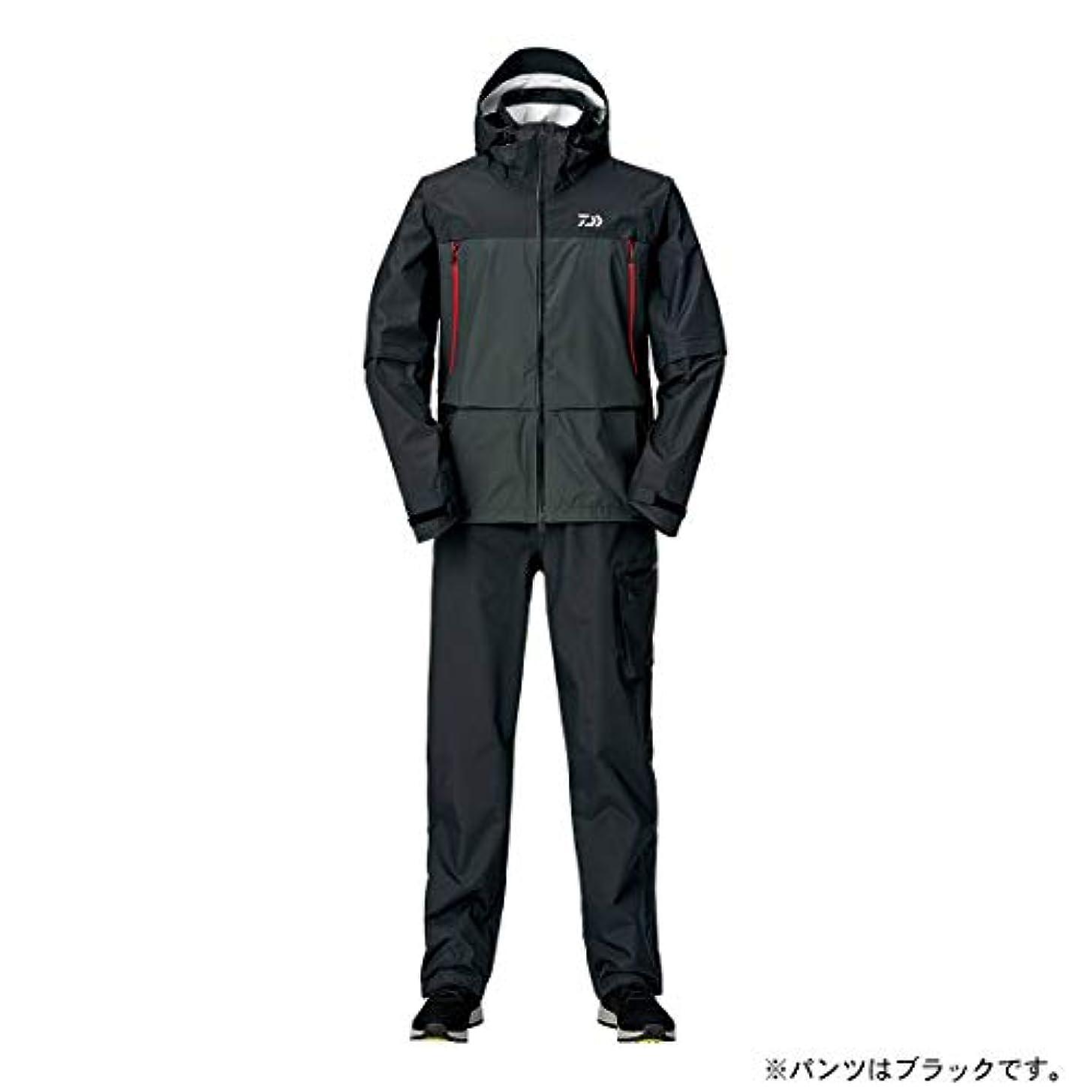 親優越協会ダイワ(DAIWA) レインマックス デタッチャブルレインスーツ DR-30009 ブラック M