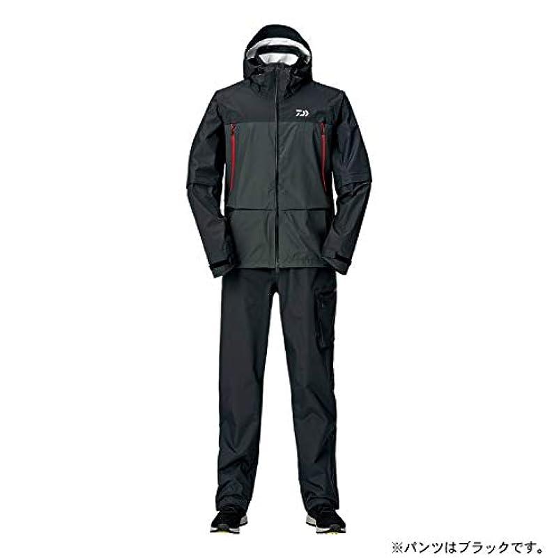 おとなしいやけど資格ダイワ(DAIWA) レインマックス デタッチャブルレインスーツ DR-30009 ブラック 3XL