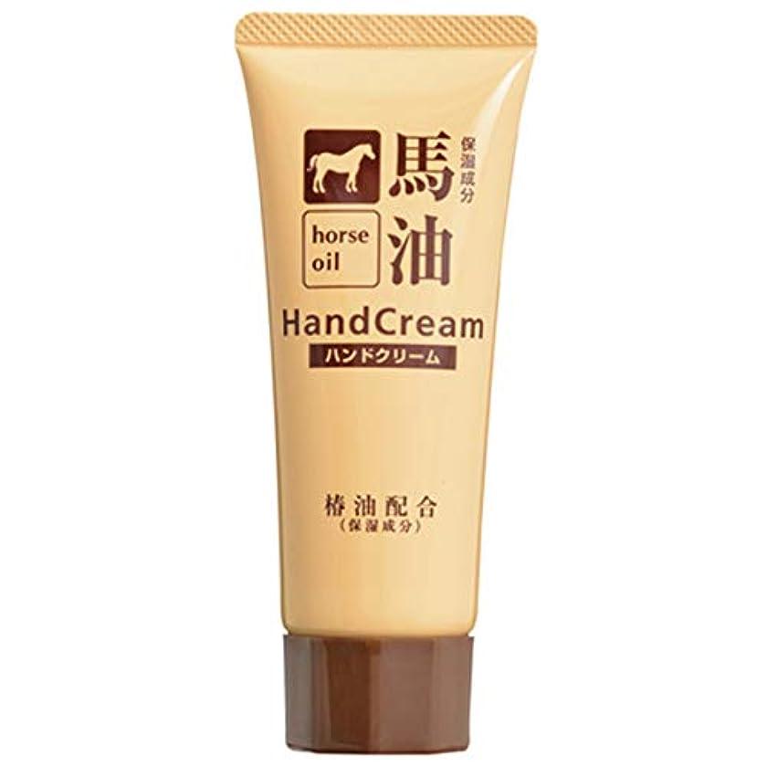 有害な知恵座標熊野油脂 椿油配合馬油ハンドクリーム 60g