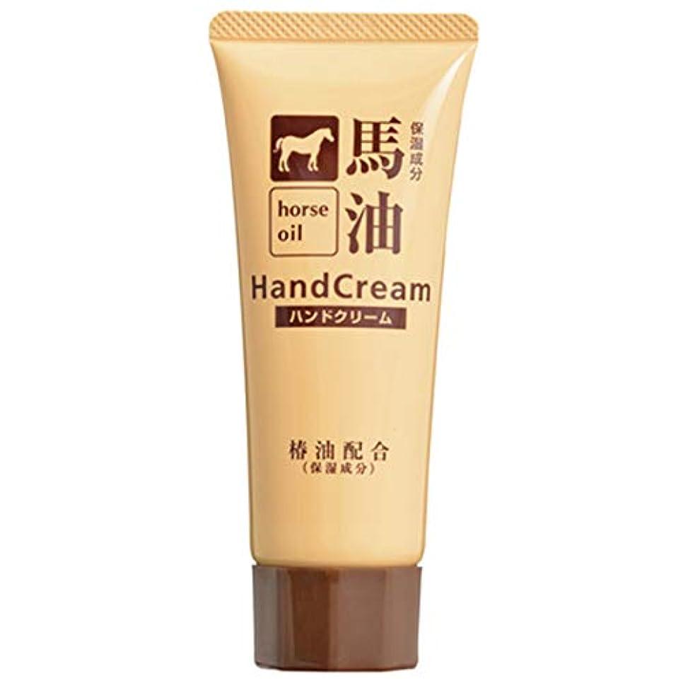 ポンド太字壊れた熊野油脂 椿油配合馬油ハンドクリーム 60g