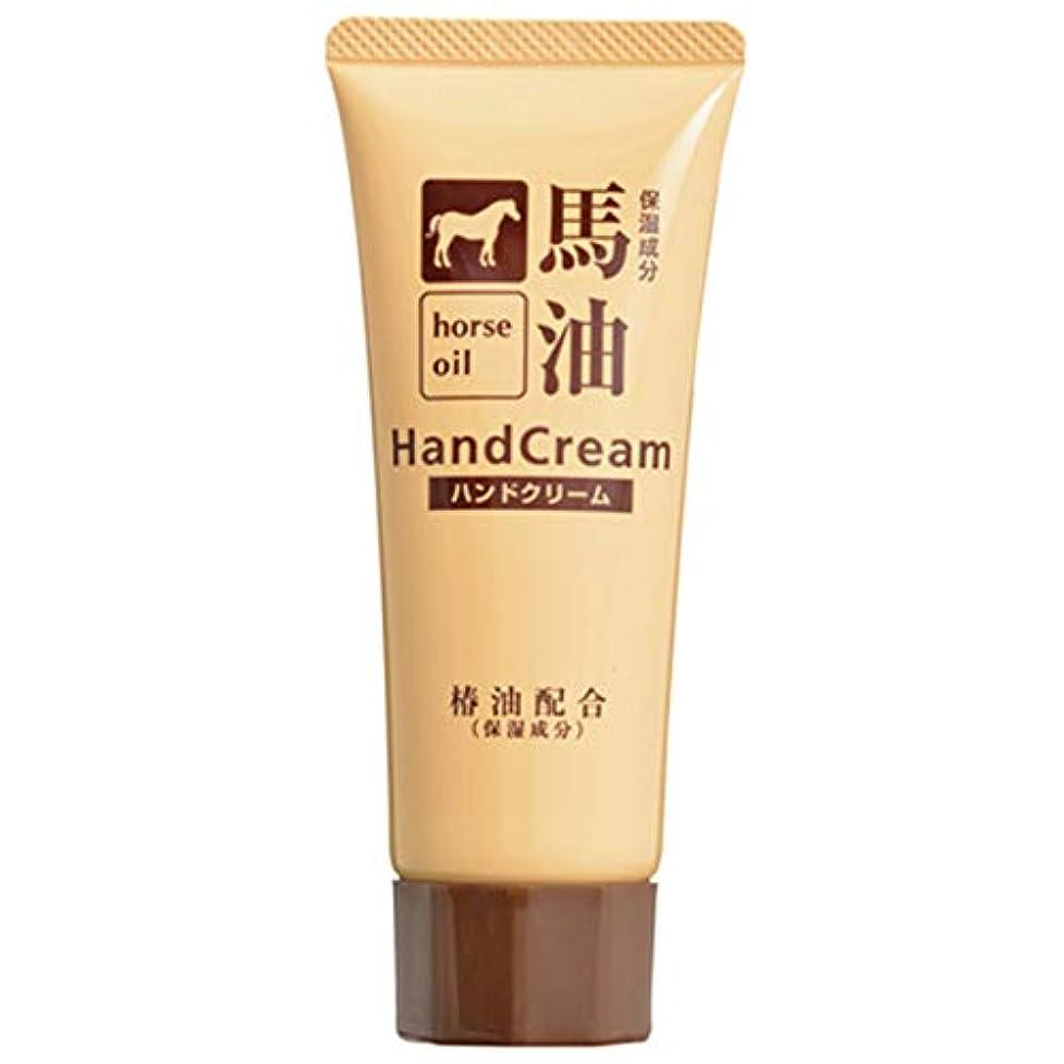 チョコレートナチュラ三番熊野油脂 椿油配合馬油ハンドクリーム 60g