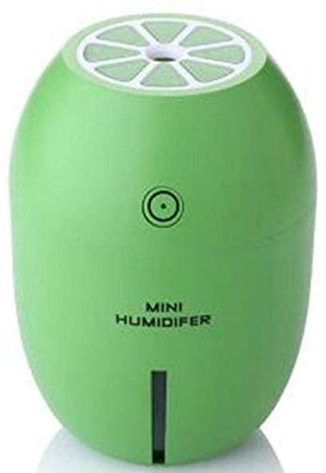 記念品シャツ根拠SOTCE アロマディフューザー加湿器超音波霧化技術満足のいく解決策美しい装飾湿潤環境品質の製品 (Color : Green)