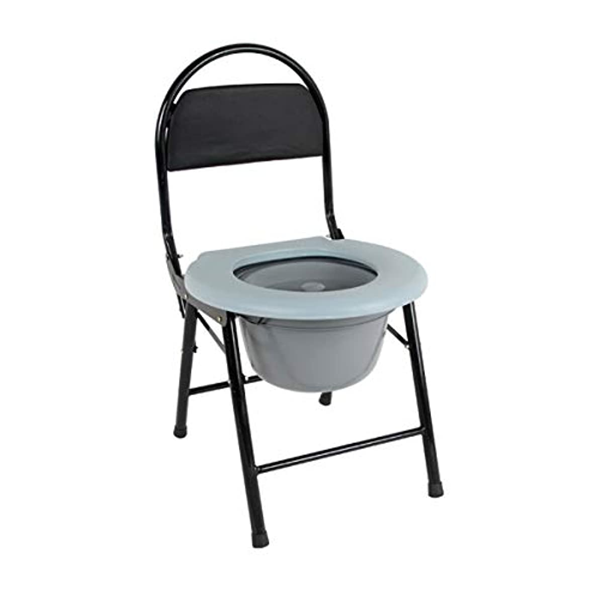 メドレーラベルおもしろいポータブル 便器 トイレ 折りたたみ 防災 簡易 便座 チェア タイプ 軽量 多機能 折畳可背もたれ 椅子 高齢者 介護用 浴室滑り止めシャワ多機能 コンパクト障害者用