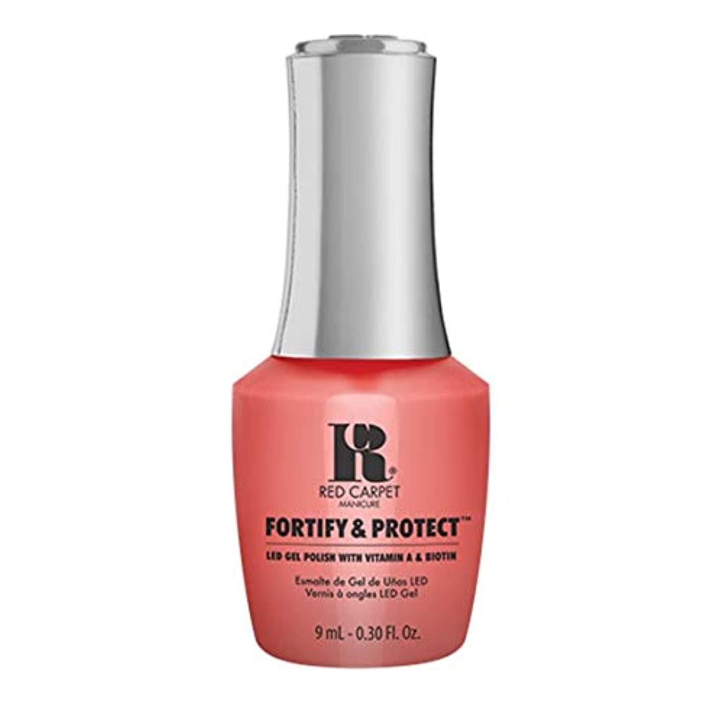 仲良し重々しい織機Red Carpet Manicure - Fortify & Protect - Flashing Lights And Neon Signs - 9ml / 0.30oz