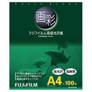 ( お徳用 20セット ) 富士フィルム FUJI 高級光沢紙 画彩 G3A4100A A4 100...