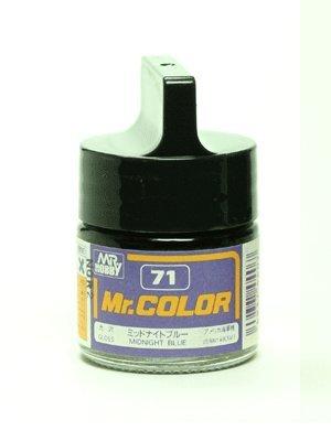 GSIクレオス Mr.カラー C71 ミッドナイトブルー 光沢