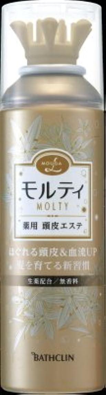 乱すデータケーキバスクリン モウガ L モルティ薬用頭皮エステ 130g 医薬部外品 (育毛剤 女性用)MOUGA MOLTY×24点セット (4548514515659)